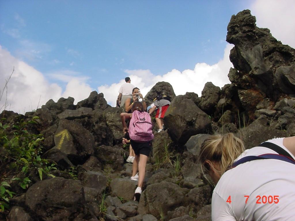 Caminata al volcan
